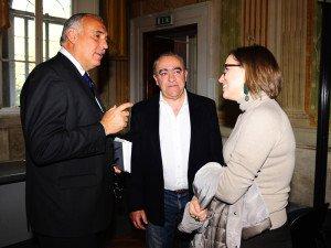 Con Ernesto Muscatello e Letizia Bandoni