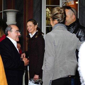 Con Donia Maaoui e Michel Boucquillon